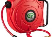 17 Mtr Retractable Air Hose Reel - Red Case & Hose