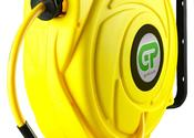 17 Mtr Hi-Visibility Retractable Air Hose Reel - Yellow Case & Hose